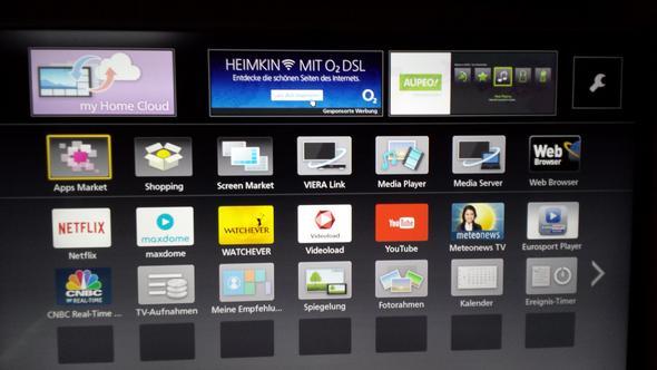 online tv mit panasonic viera smart tv internet smartphone. Black Bedroom Furniture Sets. Home Design Ideas