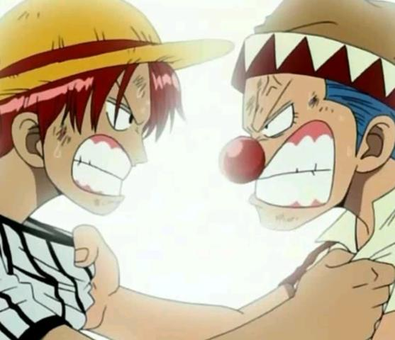 Shanks und Buggy - (Anime, One Piece, one)