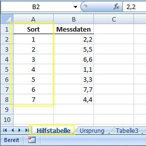 Bild 04 - (Excel, Tabelle, Querverbindung)