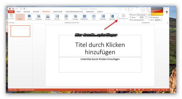Office 2013 - (Präsentation, Powerpoint, falten)
