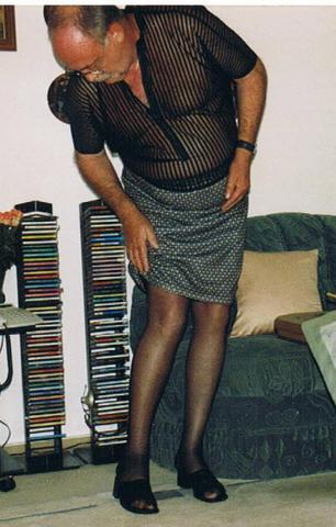 Männer tragen damen strumpfhosen