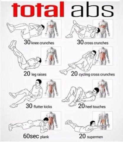 Gute Workouts für po und bauch? :) gute Ernährung etc. ich