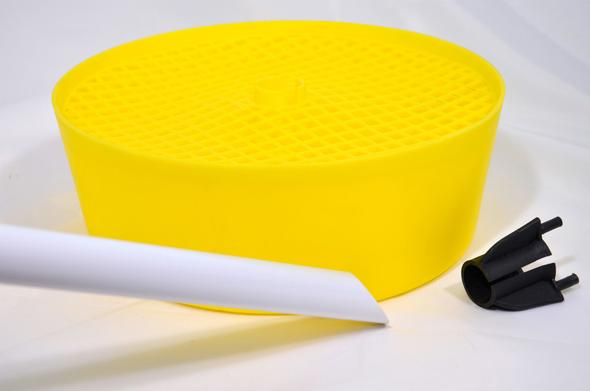 Gelbfangschale mit Zubehör - (Wespen, gelb)