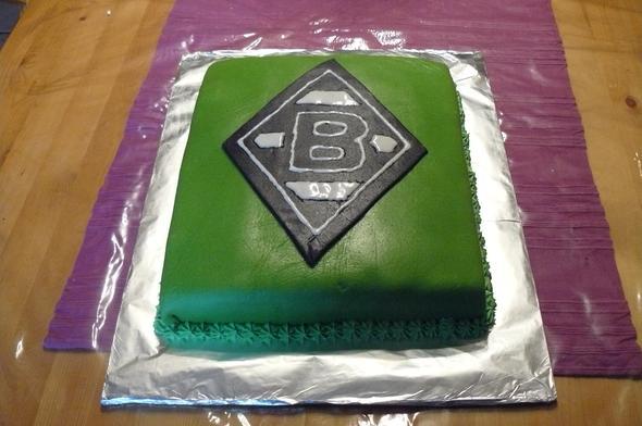 Rezept Fur Einen Borussia Monchengladbach Kuchen Backen Torte