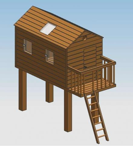 baumhaus bauen anleitung playmobil baumhaus selber bauen holz with baumhaus bauen anleitung. Black Bedroom Furniture Sets. Home Design Ideas