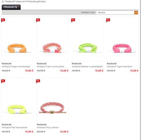 Rastaclat_SNIPES - (Online-Shop, Geschäft, Armband)