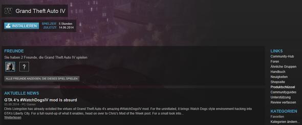Auf Produktschlüssel klicken und den Key bei UPlay eingeben (Bsp: GTA 4) - (Steam, Uplay, Far Cry 3)