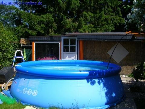Pool aufstellen? (Garten, intex)