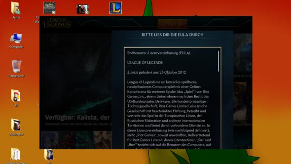 Screenshot - (League of Legends, fenster verschoben)