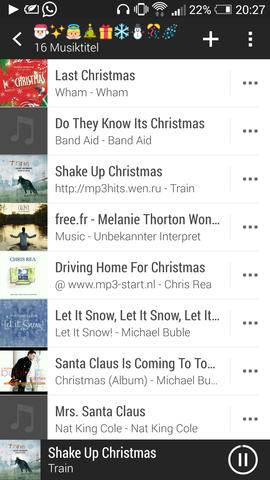 Selbst erstellte Weihnachtsmusik 🎀 - (Freizeit, fest, Feste)