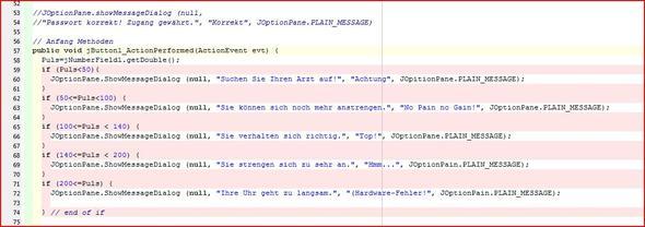 Das Skript - (Informatik, Java, iframe)