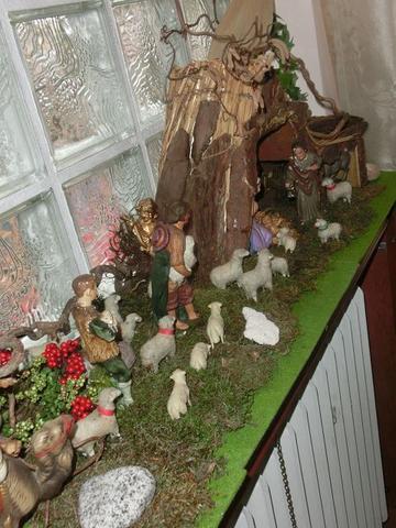 Krippendekoration - (Weihnachten, Dekoration, Deko)