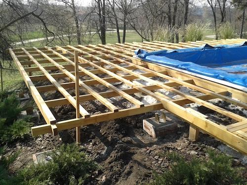 terrassen unterkonstruktion bauen th26 hitoiro. Black Bedroom Furniture Sets. Home Design Ideas