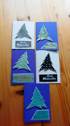 Weihnachtskarten  - (Weihnachten, Verkauf)