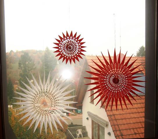 Solino Sterne  - (Weihnachten, Sterne, schenken)