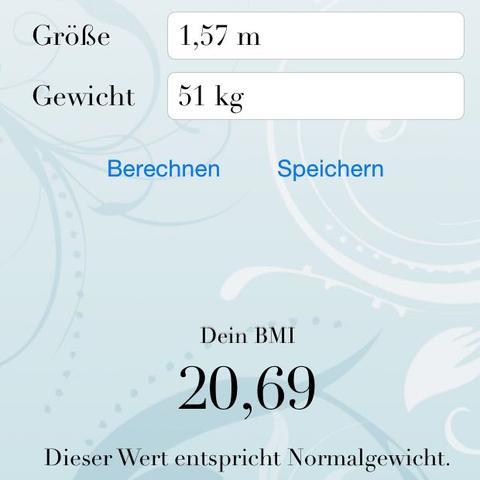 Dein BMI - (Körper, Gewicht)