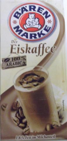 Eiskaffee (Tetra Pak) von Bärenmarke in REWE - (trinken, einkaufen, Kaffee)