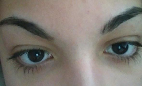 so siehts aus - (Augen, ändern, Augenbrauen)