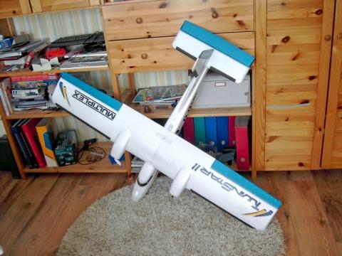 Mein Twinstar II - (Freizeit, Flugzeug, Modellbau)