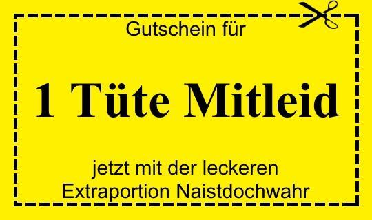 Tüte Mitleid - (deutsch, Lehrer)