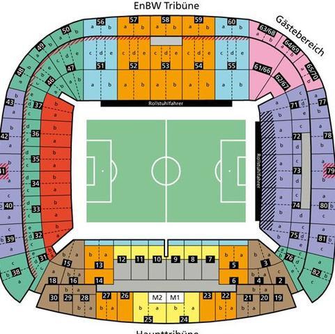 Blockplan Mercedes-Benz-Arena - (Fußball, Stadion)