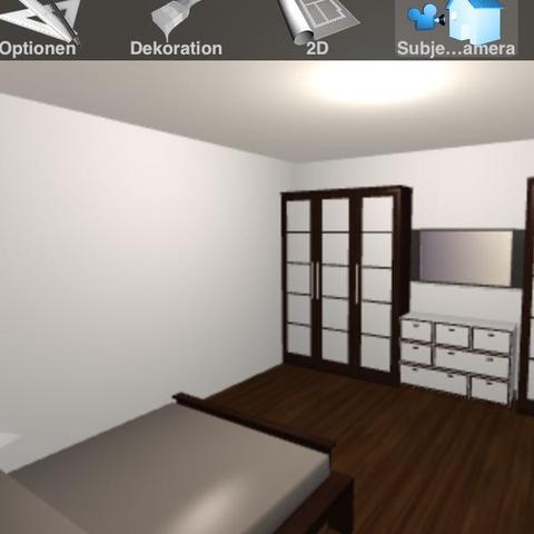 l sung f r lcd tv am bett fernseher einrichtung. Black Bedroom Furniture Sets. Home Design Ideas