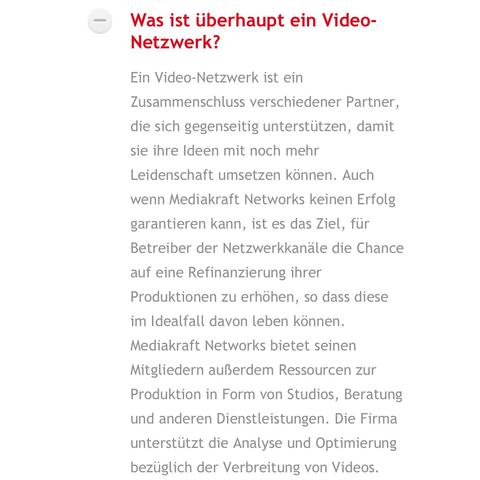 Was St ein Video-Netzwerk - (Youtube, unge, Mediakraft)