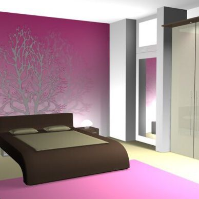 pinke wandfarbe pinke wandfarbe u wie knnen sie ihre wnde. Black Bedroom Furniture Sets. Home Design Ideas
