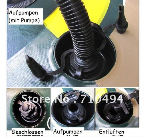 Ventileinstellungen - (Tipps, Boot, pumpen)