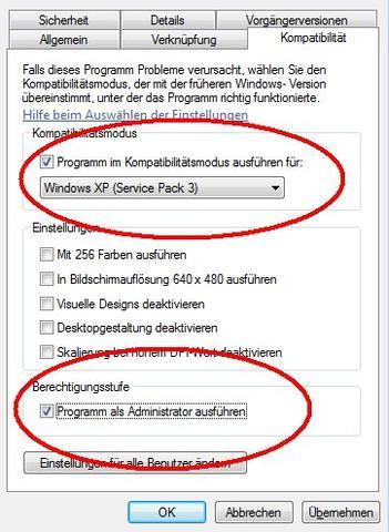 Kompatiblitätsmodus  - (Spiele, Computerspiele, Windows 7)