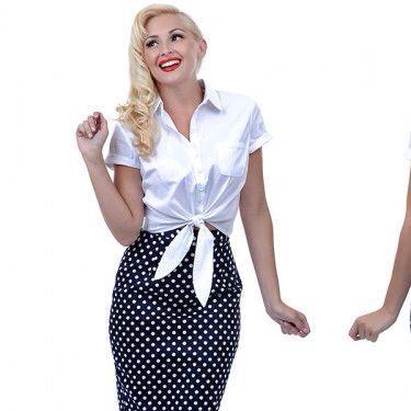 Pencil skirt - (Mode, Party, Motto)