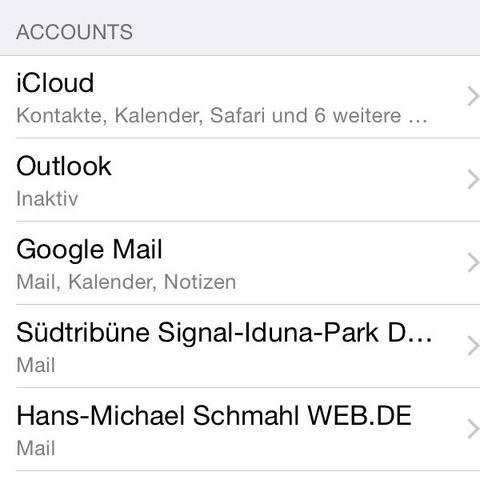 Schritt 2 - (Email, pfeil)