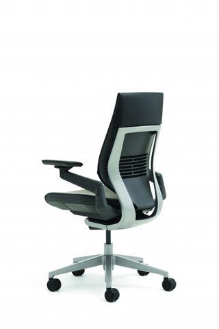 Steelcase Bürostuhl Modell Gesture mit mehrdimensional verstellbaren Armlehnen - (Bürostuhl, Drehstuhl, armlehnen)