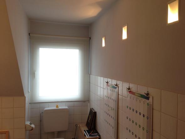 Hässliches Badezimmer in Mietwohnung verschönern, suche Idee ...