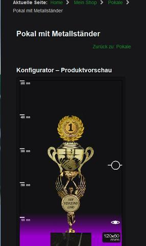 Screenshot Pokalkontor.de - (Deutschland, Pokal)