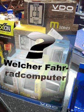welcher radcomputer - (Technik, Fahrrad, Kabel)