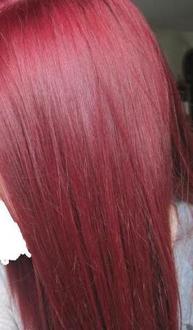 Braune haare rot farben welche marke