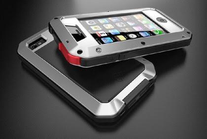 Stärkste Aluminium Rahmen Gorilla Glas Schutzhülle iphone4/4s - (iPhone, Wasser, Hülle)