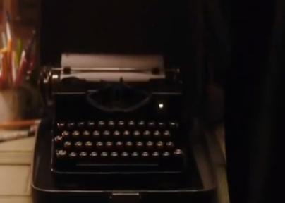 Zweites - (Film, Schreiben, Schreibmaschine)