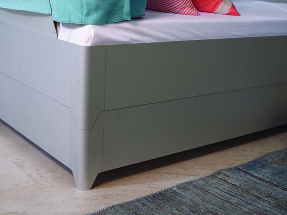 ich finde, es ist sehr elegant und doch zwei gleichwertige Betten - (Bett, Doppelbett)