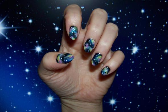 Galaxy Nails - (Nagellack, Chanel)