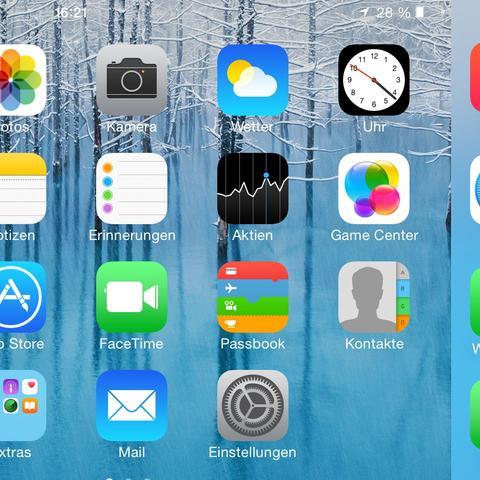 iOS 8 - (Apple, Windows, Android)