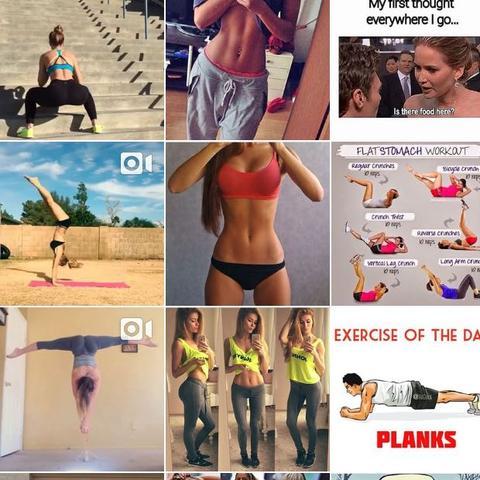 Gibt halt viele Tipps und Beispiele und das motiviert auch find ich :) - (Muskeln, Bauch, Bauchmuskeln)