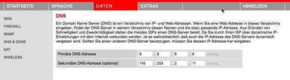 DNS Einstellungen im Router - (Windows 7, WLAN, Internetverbindung)