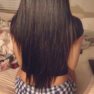 Haare selber schneiden gestuft