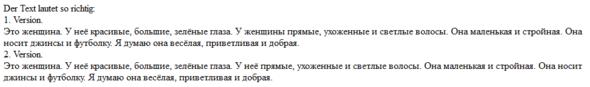 Der Text - (Sprache, russisch)