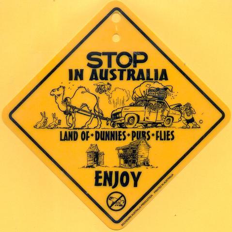 Stop in Australia  - (Geld, Urlaub, Spass)