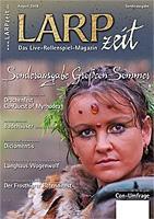 Cover der LARPzeit - (Film, Verein, Rollenspiel)