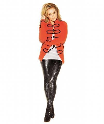 Hilary Duff in Leggings. - (Beauty, Mode, Styling)