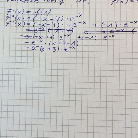Lösung - (Mathe, Analysis)